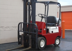 Steves Forklift Painting - Indianapolis, IN