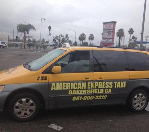 American Express Taxi - Bakersfield, CA