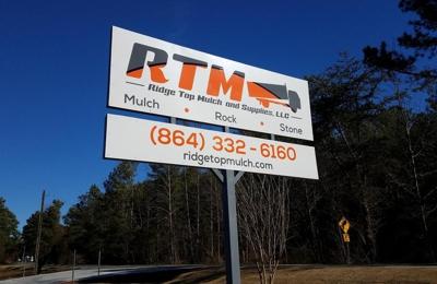 Ridge Top Mulch And Supplies Llc - Anderson, SC