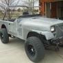 Blast-Tech, Inc. - Englewood, CO. Nineteen Eighty Seven Jeep YJ  Rt. Front