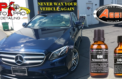 Auto Pro Detailing - Fremont, CA. Glass Finish with Ceramic Pro Protection