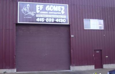 Ef Gomez Cement Contractor - San Francisco, CA