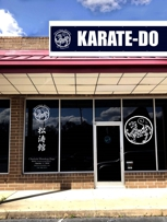 Front view of New dojo