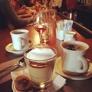 Pizzeria Mozza - Los Angeles, CA. Butterscotch budino and coffee. Amazing!