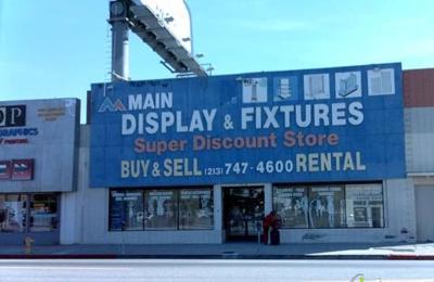 Main Store Display & Fixtures - Los Angeles, CA
