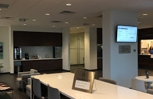 Customer lounge and snack area