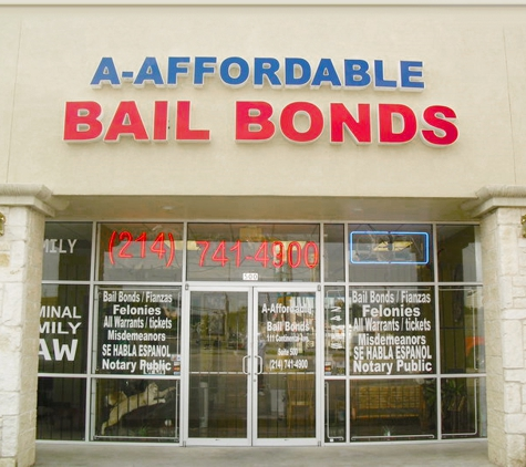 A-Affordable Bail Bonds - Dallas, TX
