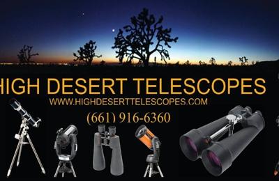 High Desert Telescopes - Lancaster, CA