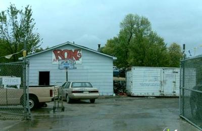 Auto Salvage Des Moines >> Ron S Auto Salvage 1625 Dixon St Des Moines Ia 50316 Yp Com