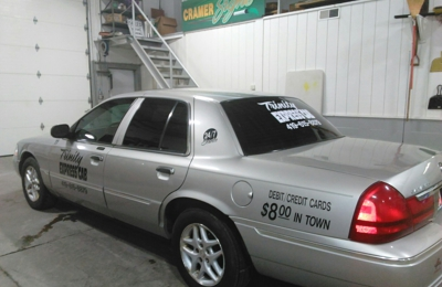 Trinity Express Cab - Findlay, OH. Only 8 bucks intown Findlay ohio