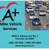 A+ Motor Vehicle Services