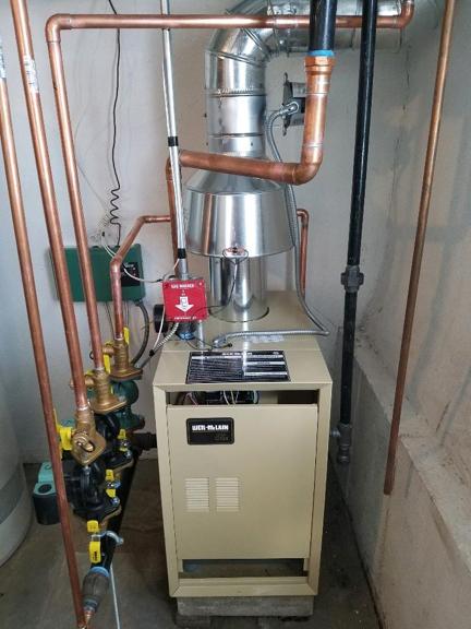 JP Heating & Cooling. Boiler Installation