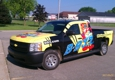 Print Blitz Michigan Sign Shop - Dorr, MI. Truck wrap in completion serving 49548, 49323 and Wayland Michigan