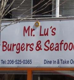 Mr Lu's Seafood & Burgers - Seattle, WA