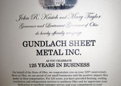 Gundlach Sheet Metal Works - Sandusky, OH