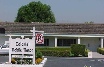 Colonial Mobile Manor San Jose CA 95136