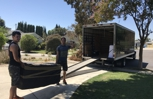 Our strong and professional movers always glad to help you!