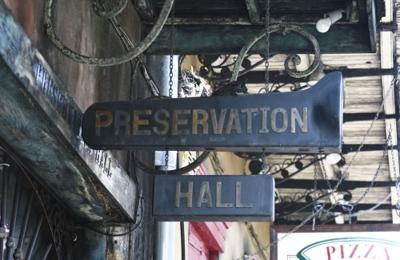 Preservation Hall - New Orleans, LA