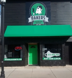 Bakers Locksmithing Services - Springfield, OH