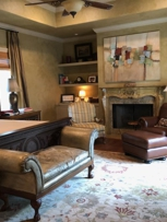 Elegant and sophisticated yet warm and inviting master bedroom retreat... Magnificent project reveal!  Go Team Nilipour!