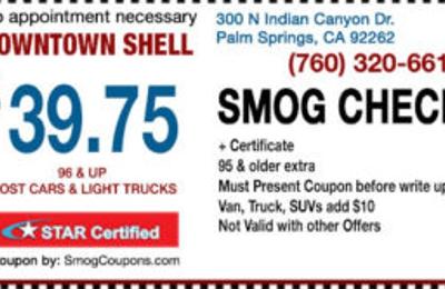 Shell - Palm Springs, CA