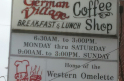 German Village Coffee Shop - Columbus, OH. Best food and service in Columbus Ohio