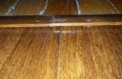 Project Management Services - Northglenn, CO. Bamboo Floor Threshold