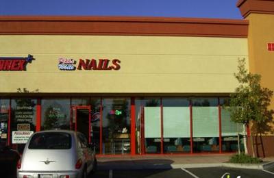 Pink & White Nails - Hayward, CA