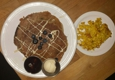Watercourse Foods - Denver, CO. Pancake Stack with Scrambled Tofu