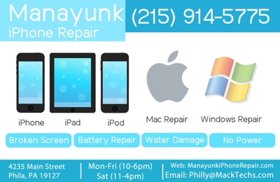 Manayunk Iphone Repair - Philadelphia, PA