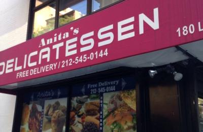 Anitas Deli & Grocery - New York, NY. Anita's Deli