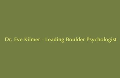 Kilmer Eve Ph.D. - Boulder, CO