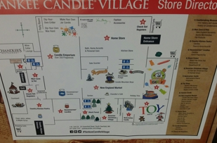 Map from inside of the store, is really big.