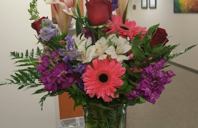 Ladybug's Flowers & Gifts - Tulsa, OK. They did a wonderful job!