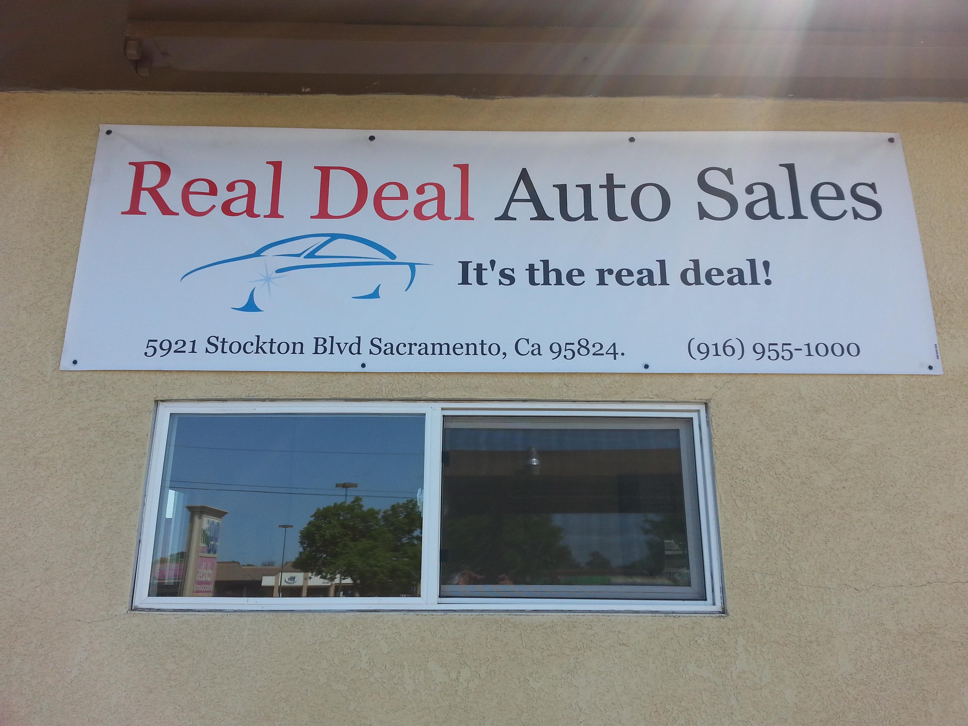Real Deal Auto Sales 5921 Stockton Blvd Ste A Sacramento CA