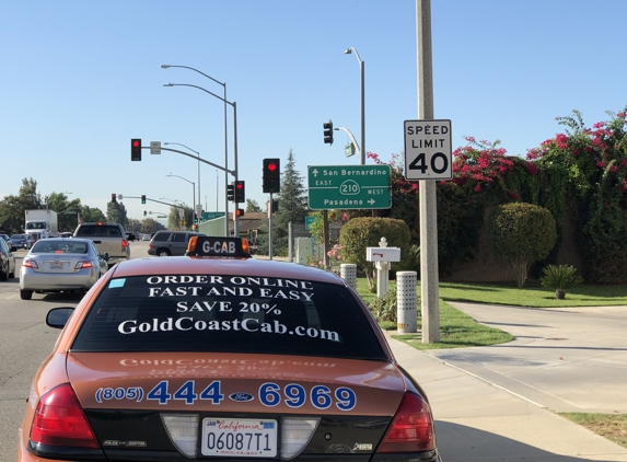 Gold Coast Cab Co. - Ventura, CA. Local or long distance taxi flat rates. Taxi From Ventura CA, to LAX and save huge with our low flat taxi rates.