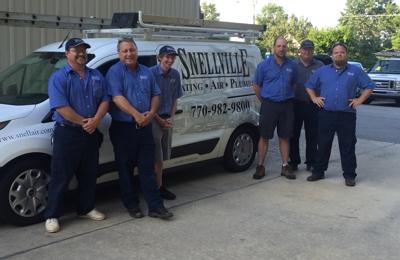 Snellville Heating Air & Plumbing Inc - Monroe, GA. Service Dept.   Technicians