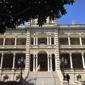 Iolani Palace - Honolulu, HI. Back side of the palace