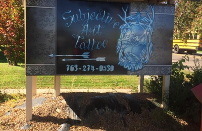 Subjective Art Tattoo - Elk River, MN