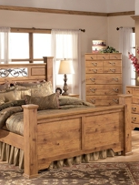1StopBedrooms review the best bedroom sets and select Bittersweet Poster Bedroom Set for you