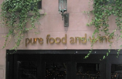 Pure Food And Wine - New York, NY