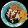 The Grain Cafe - Los Angeles, CA. Enchilada Plate