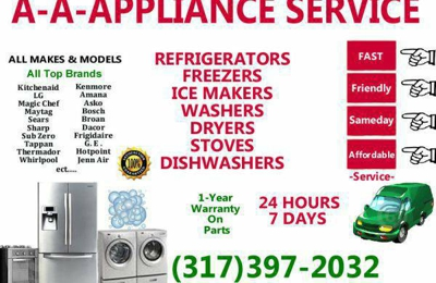 AA Appliance Repair - Indianapolis, IN