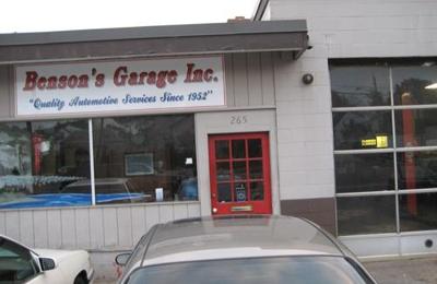 Benson's Garage - North Weymouth, MA