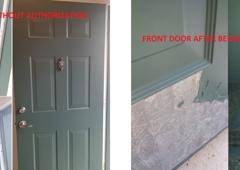 Leland Management, Inc. - Orlando, FL. Door Before and After