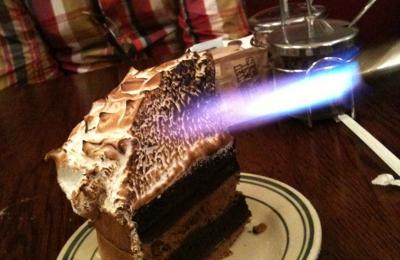 Nickel Diner - Los Angeles, CA. S'mores cake!