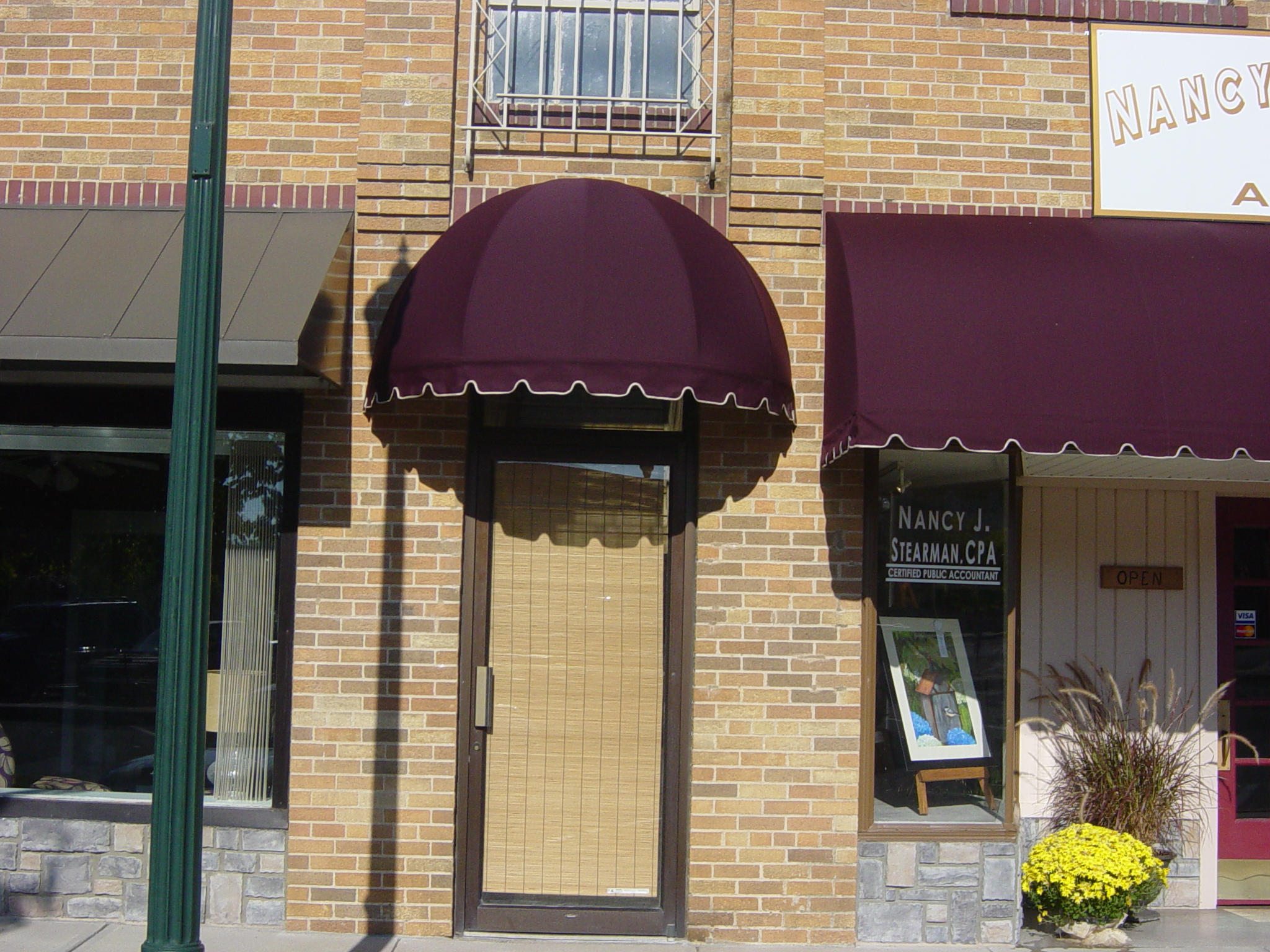 abbott kickers awnings louisville fixed iproview suppliers video material gallery awning ky proview image w