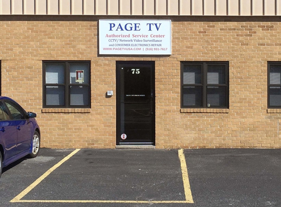 Page T V & Air Conditioning - Hicksville, NY. PAGE TV 0 CCTV Repair
