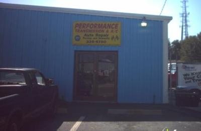 Performance Transmission & Ac - Gainesville, FL