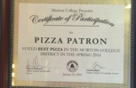 Primer lugar en competencia de mejor savor en Morton college!